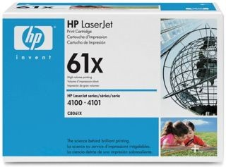 Toner HP czarny C8061X [ 10000 stron, LaserJet 4100/4100mfp ]