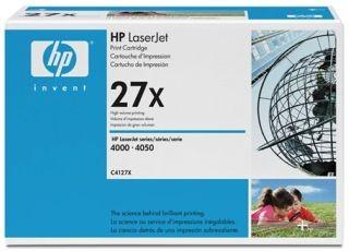 HP TONER BLACK 27X /LJ4000/4050/10K C4127X