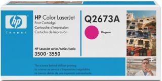 Toner HP magenta Q2673A [ 4000 str., Color LaserJet 3500 ]