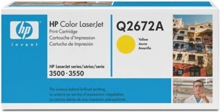 Toner HP yellow Q2672A [ 4000 str., Color LaserJet 3500 ]