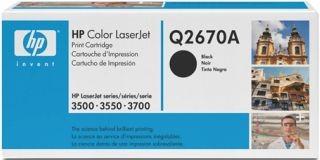 Toner HP czarny Q2670A [ 6000 str., Color LaserJet 3500/3700 ]