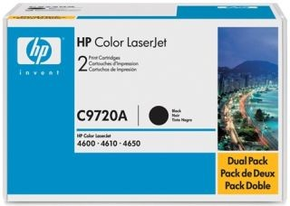 HP Toner HP Color Laser 46x0 BLACK C9720A