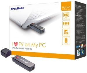 AverMedia Tuner Hybrydowy AVerTV Hybrid Volar HD H830, PAL/SECAM/NTSC+DVB-T