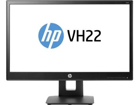 HP VH22 21.5in FHD 5000000:1 170/160 250cd 5ms 1XVGA 1xDVI 1xDP(HDCP) Pivot VESA