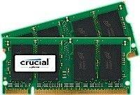 Crucial DDR2 2GB/667 (2*1GB) CL5 SODIMM
