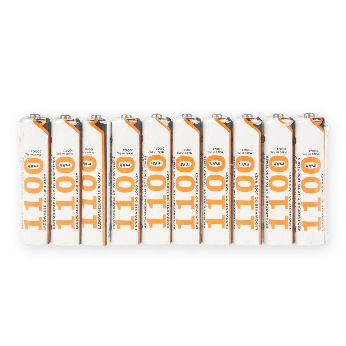 Whitenergy akumulatory AAA 1100mAh 10szt