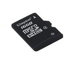 Kingston Karta pamięci KINGSTON Micro SDHC 16GB bez adaptera, class 4 (SDC4/16GBSP)