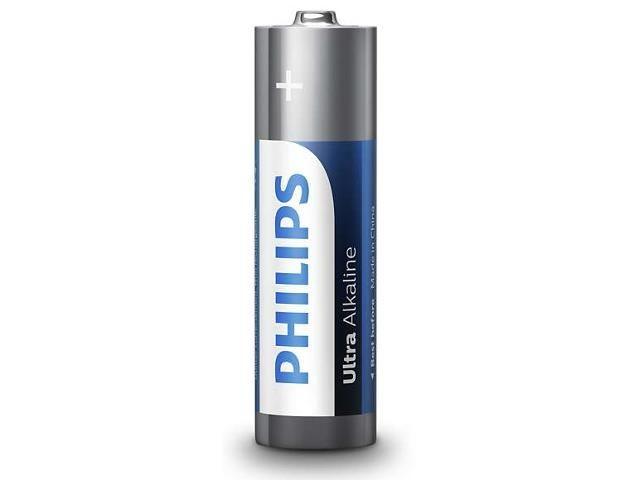 Philips Baterie Ultra Alkaline AA 4szt. blister