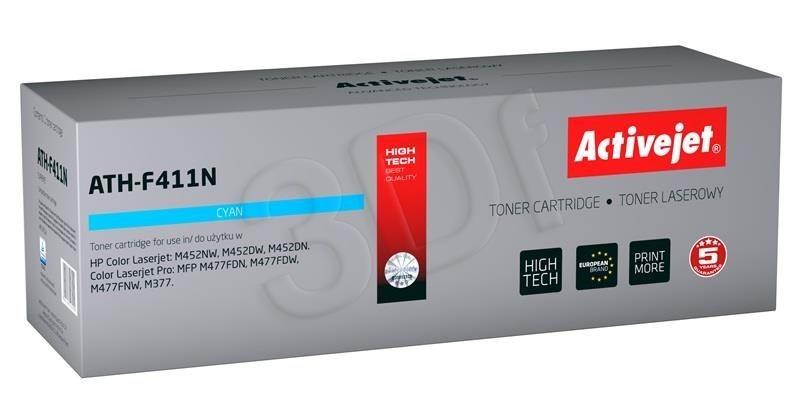 ActiveJet Toner ATH-F411N (zamiennik HP 410A CF411A; Supreme; 2300 stron; niebieski)