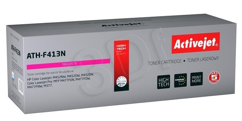 ActiveJet Toner ATH-F413N (zamiennik HP 410A CF413A; Supreme; 2300 stron; czerwony)