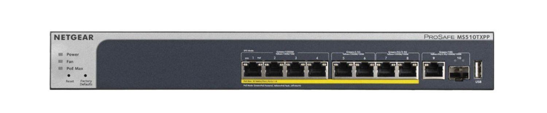 Netgear Switch MS510TXPP 8xRJ45 PoE+ Multi-Gigabit 1xSFP+