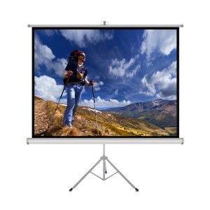 ART Ekran ręczny na statywie 1:1 60' 152x152cm TS-60 1:1