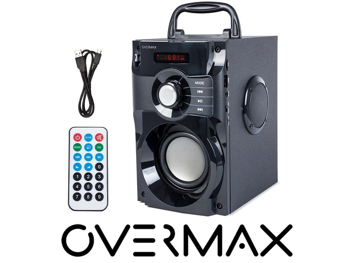 OverMax Głośnik Soundbeat 2.0 FM, BT, MP3, pilot, przenośny