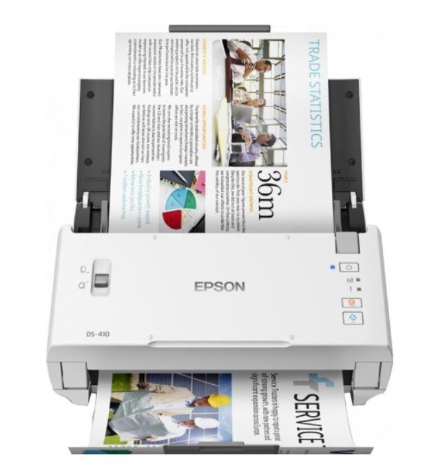 Epson Skaner WorkForce DS-410 A4 600dpi/ADF50/26PPM/USB