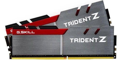 GSkill TridentZ Series - DDR4 - 32 GB: 2 x 16 GB - DIMM 288-PIN - ungepuffert