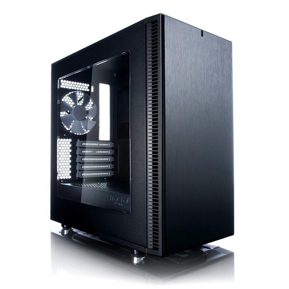 Fractal Design Define Mini C TG 3. 5'HDD/2.5'SDD uATX/ITX Tempered Glass side panel