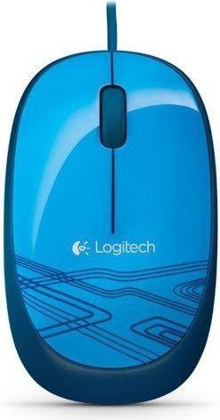 Logitech 910-003114 Mouse M105 - BLUE - EMEA