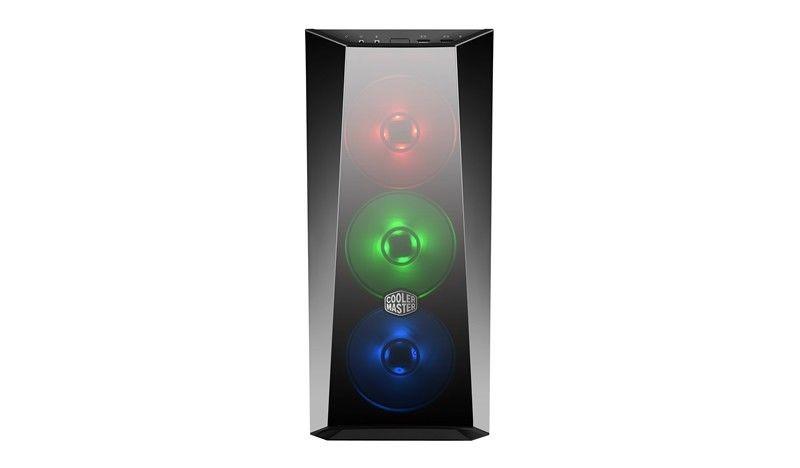 Cooler Master Case|COOLER MASTER|MasterBox Lite 5 RGB|MidiTower|Not included|ATX|MicroATX|MiniITX|Colour Black|MCW-L5S3-KGNN-02