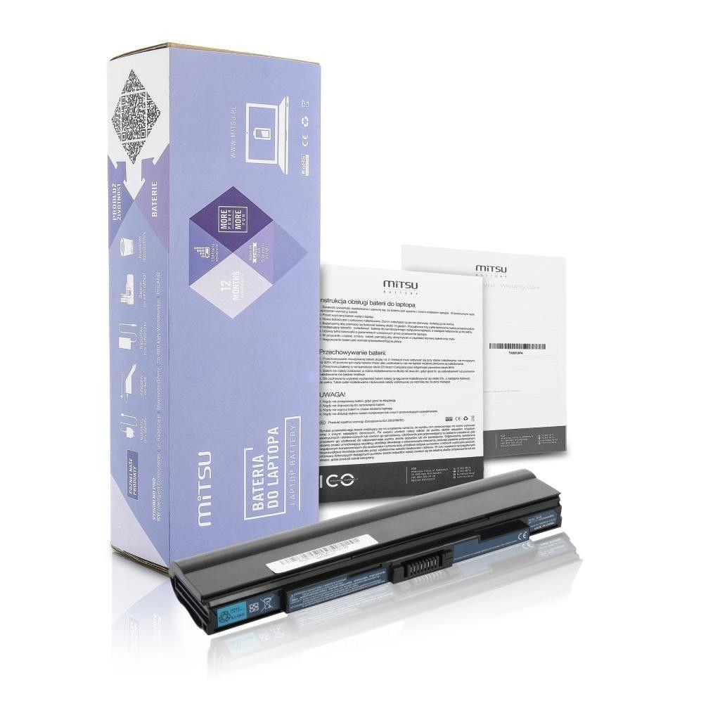 Mitsu Bateria do notebooka Acer Aspire 1430, 1551, 1830T (10.8V-11.1V) (4400 mAh)