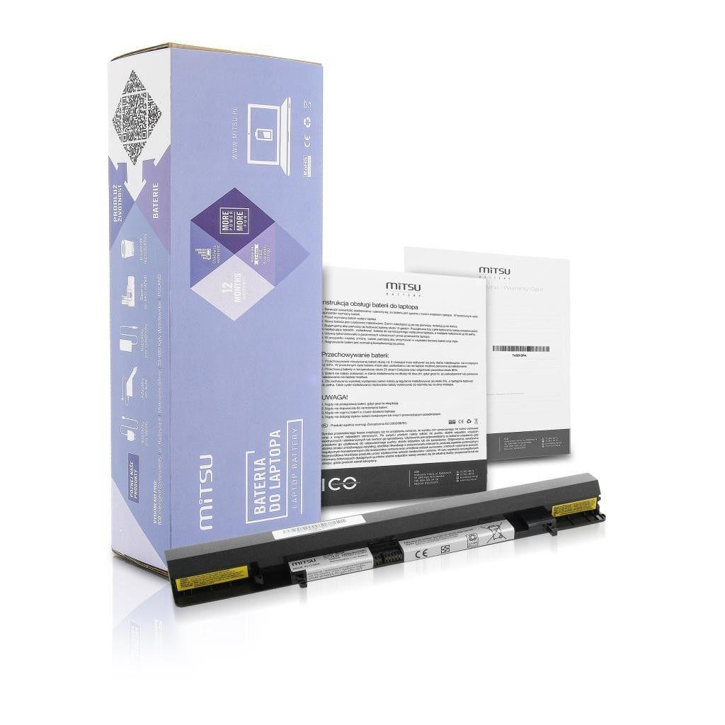 Mitsu Bateria do Lenovo IdeaPad S500 2200 mAh (32 Wh) 14.4- 14.8 Volt