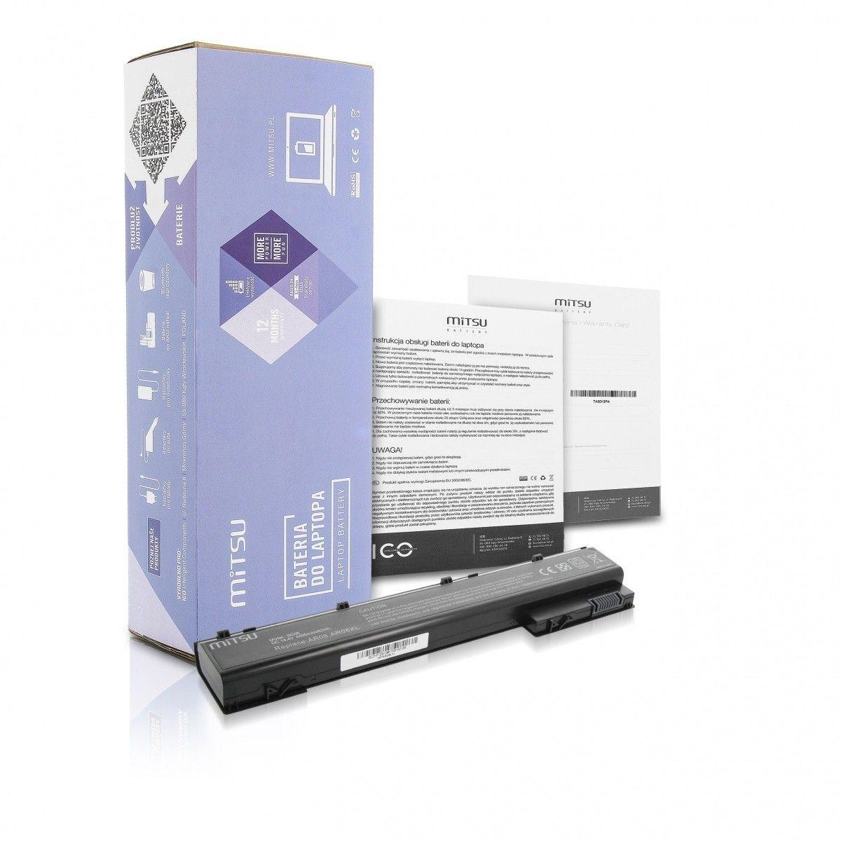 Mitsu Bateria do HP ZBook 15 G1, 17 G1 4400 mAh (63 Wh) 14.4 - 14.8 Volt
