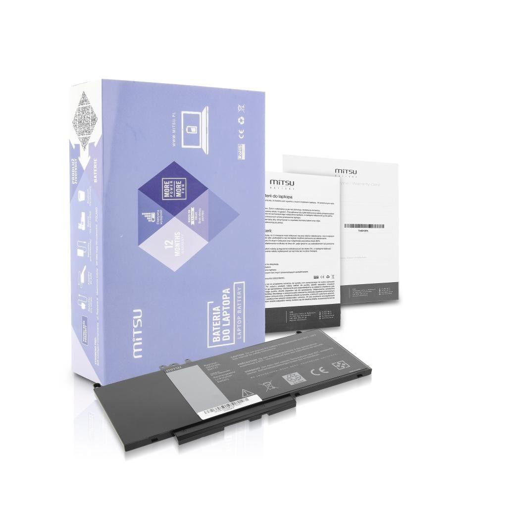 Mitsu Bateria do Dell Latitude E5450,E5550 6900mAh (51Wh) 7.4-7.6 Volt