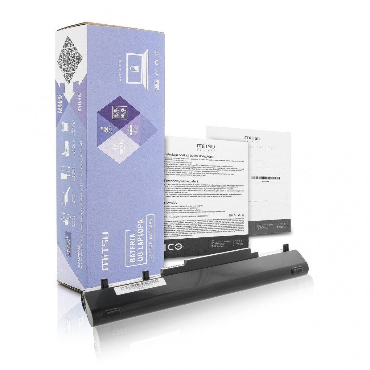 Mitsu Bateria do Acer TM8372,8481G 4400 mAh (63 Wh) 14.4 Volt - 14.8 Volt