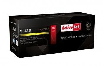ActiveJet Toner ATH-542N (zamiennik Canon HP 125A CRG-716Y CB542A; Supreme; 1600 stron; żółty)