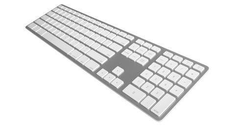 Matias Klawiatura aluminiowa Mac bluetooth Silver