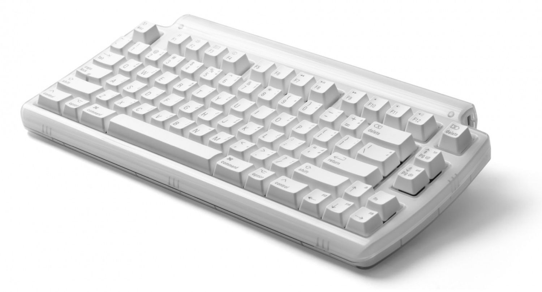 Matias mini Tactile Pro klawiatura mechaniczna Mac hub 3xUSB biała