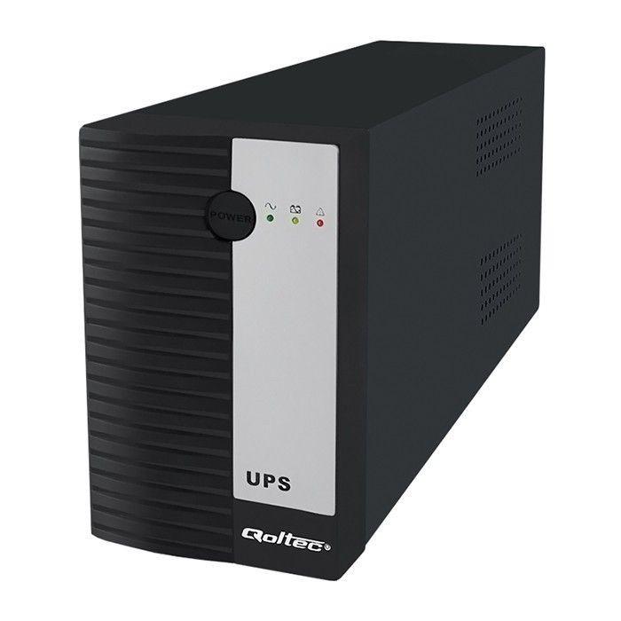 Qoltec UPS 600VA 360W / 1xIEC / 1xSchuko (12V/7Ah)