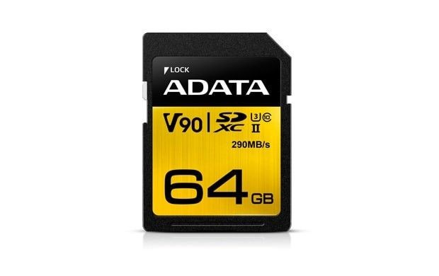 A-Data SD Premier ONE 64GB UHS 2/U3/CL10 290/260MB/s