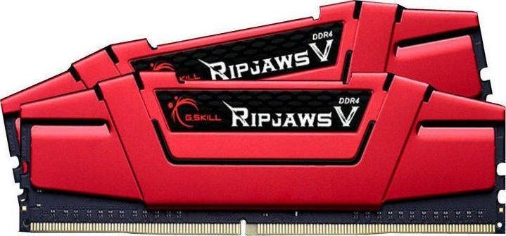 GSkill RipjawsV Pamięć DDR4 16GB 2x8GB 3200MHz CL14 1.35V XMP 2.0 Czerwona