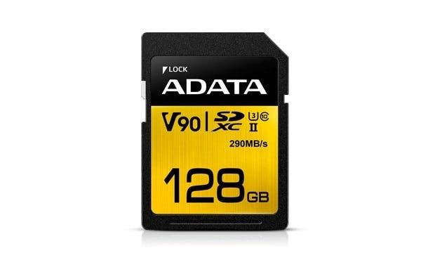 A-Data SD Premier ONE 128G UHS 2/U3/CL10 290/260MB/s