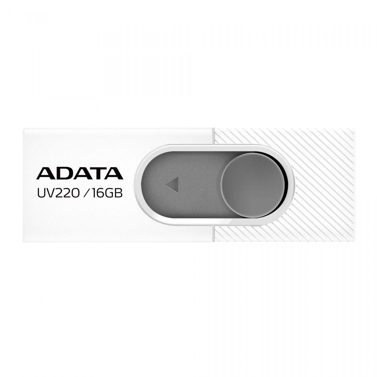 A-Data Pendrive UV220 16GB USB2.0 Biało-szary