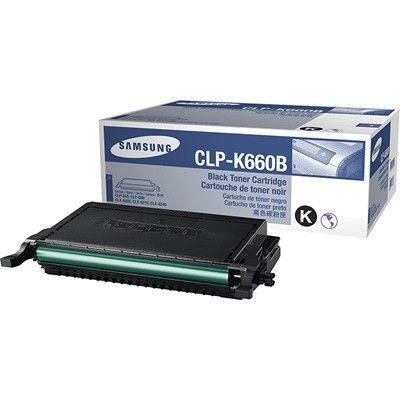 HP Samsung CLP-K660B - Hohe Ergiebigkeit - Schwarz - Original - Tonerpatrone (ST906A) Original Samsung Tonerkartuschen Schwarz mit 2.500 Seiten Reichweite optimieren die Ausgabe in perfe