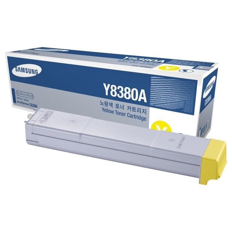 HP SAMSUNG CLX-Y8380A Yel Toner Cartridg