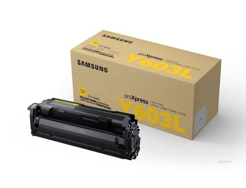 HP CLT-Y603L High Yield Yellow Toner Cartridge