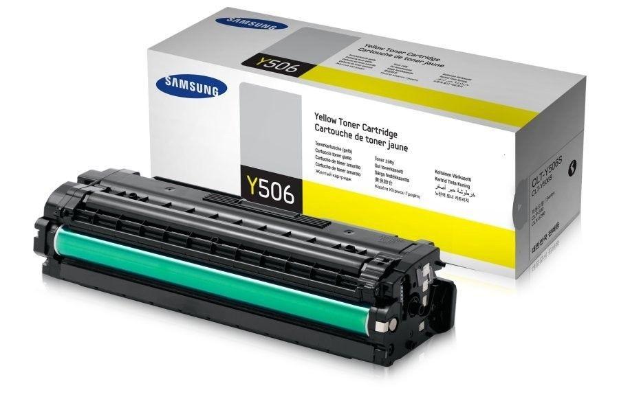 HP Samsung CLT-Y506S Yellow Toner