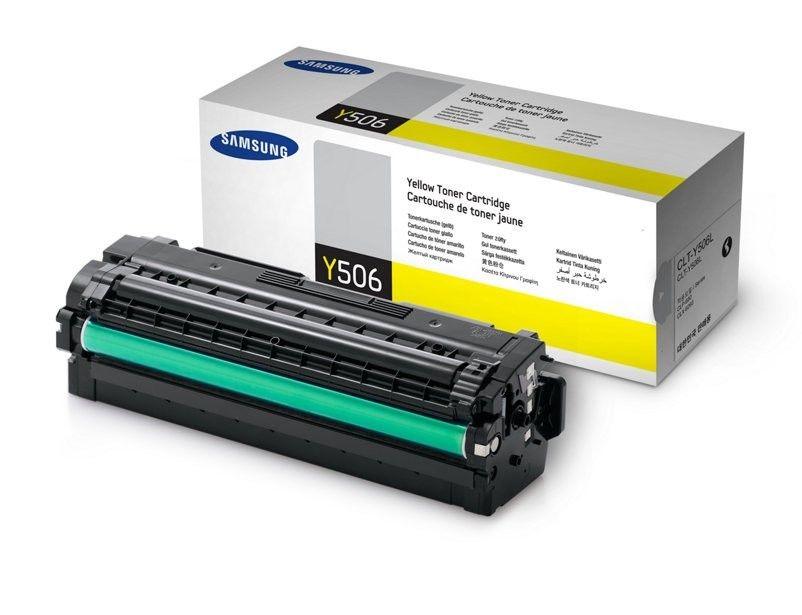 HP Samsung CLT-Y506L H-Yield Yellow Toner