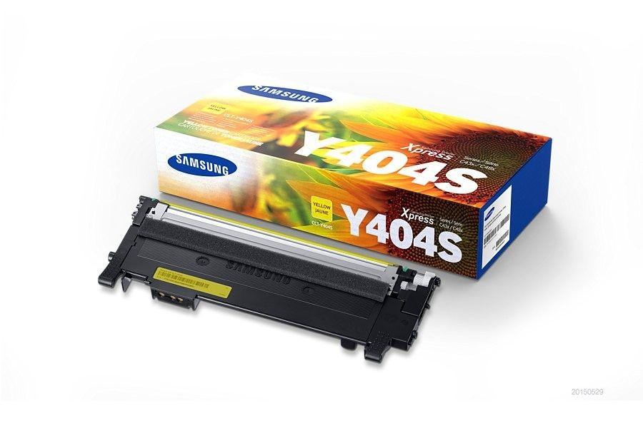 HP Samsung CLT-Y404S Yellow Toner