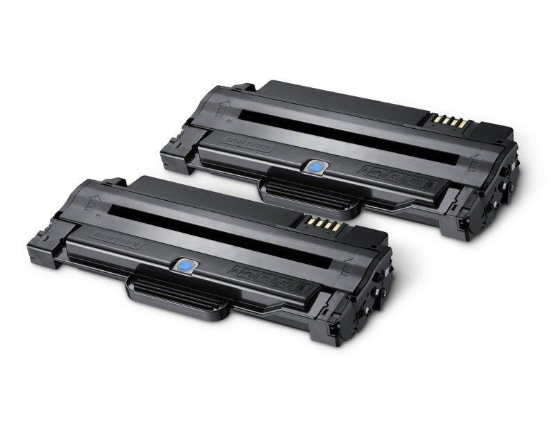 HP MLT-P1052A 2-pk HY BK Toner Cartridge