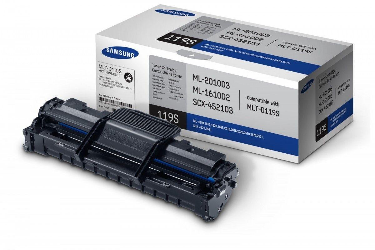 HP Samsung MLT-D119S Black Toner