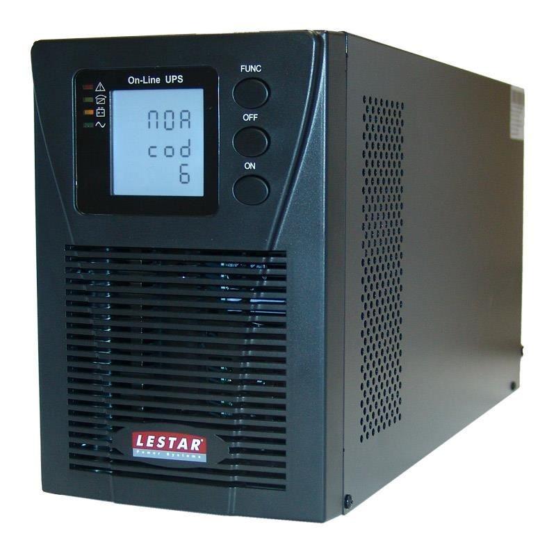 Lestar UDX- 2000 ONLINE LCD 4XIEC UPS Udx-2000 2000VA/1800W PF 0,9 On-Line LCD 4x9Ah 4xIEC USB RS RJ 45 EPO