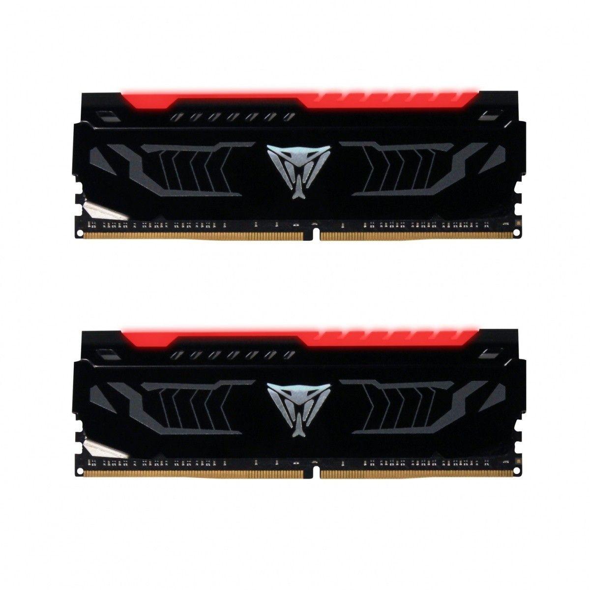Patriot Extreme Performance Viper LED Series - DDR4 - 16 GB: 2 x 8 GB - DIMM 288-PIN - ungepuffert