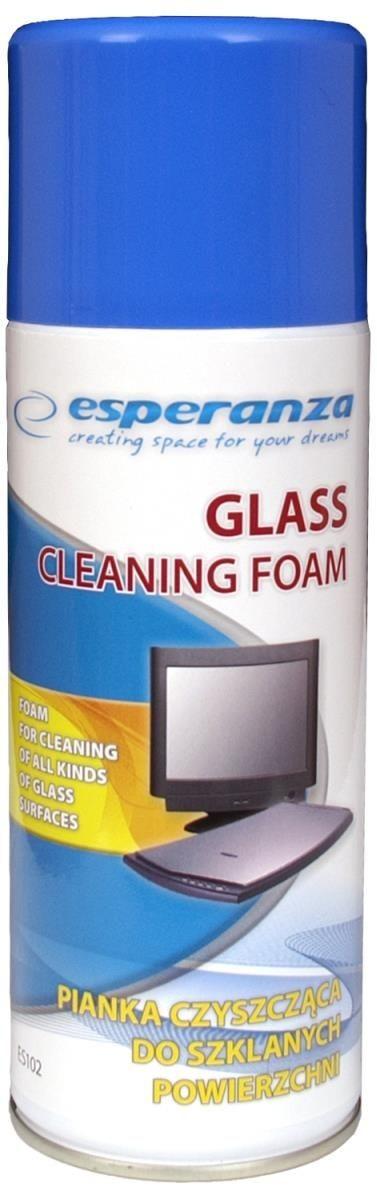 Esperanza ES102 pianka do czyszczenia powierzchni szklanych 400ml