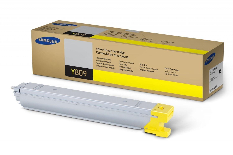 HP Samsung CLT-Y809S Yellow Toner Cartridge