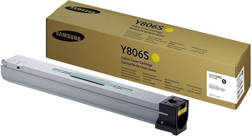 HP Samsung CLT-Y806S Yellow Toner Cartridge