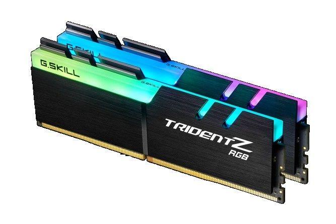 GSkill RAM TridentZ RGB Series - 16 GB (2 x 8 GB) - DDR4 3000 UDIMM CL15