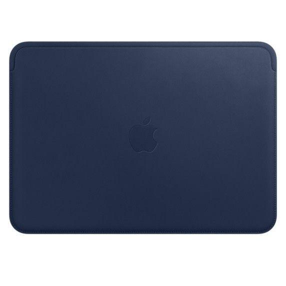 Apple Leather Sleeve MacBook Midnight